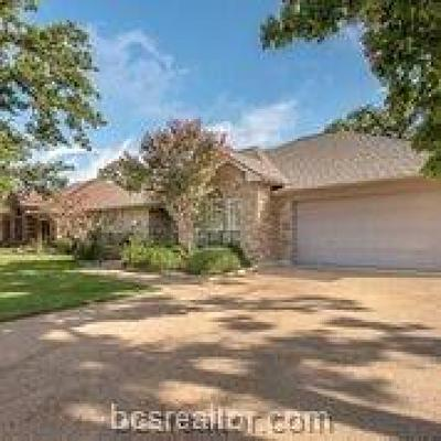 Bryan Single Family Home For Sale: 2307 North Pioneer Trail