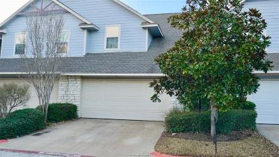 College Station Condo/Townhouse For Sale: 1245 Canyon Creek