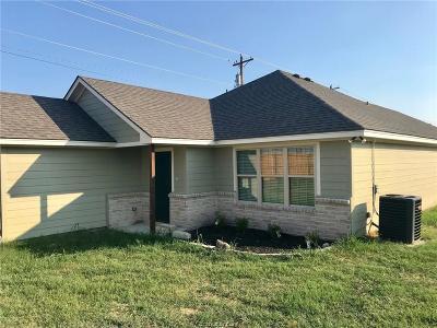 Bryan Single Family Home For Sale: 800 Turkey Creek