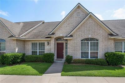 College Station Condo/Townhouse For Sale: 404 Fraternity Row