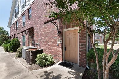 College Station Condo/Townhouse For Sale: 801 Luther Street #804