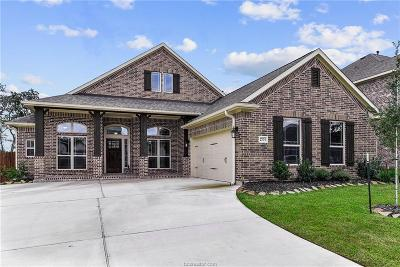 Bryan , College Station Single Family Home For Sale: 2703 Wolveshire Lane