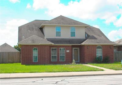 Bryan , College Station Single Family Home For Sale: 4220 Alexandria