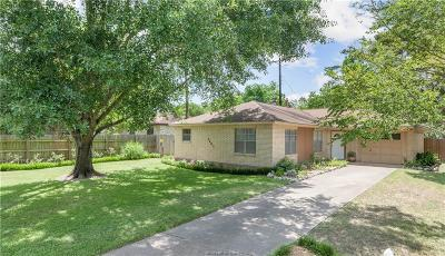 Bryan TX Single Family Home For Sale: $155,000