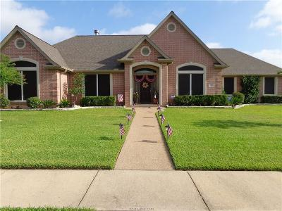 College Station Single Family Home For Sale: 2113 Rolling Rock Place