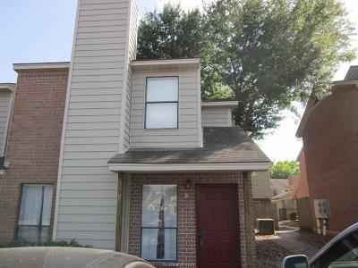 College Station Condo/Townhouse For Sale: 1904 Dartmouth Street #C-5