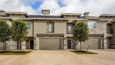 Bryan  , College Station Condo/Townhouse For Sale: 3318 Papa Bear Drive