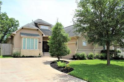 Bryan Single Family Home For Sale: 3212 Walnut Creek Court