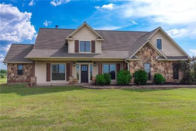 Madisonville Single Family Home For Sale: 6547 Fm 1452