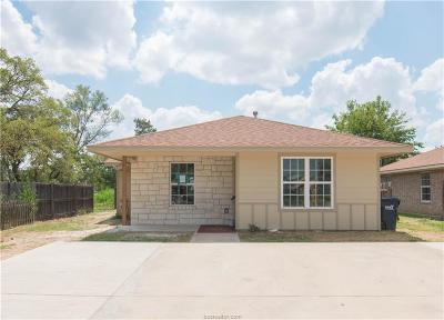 College Station Single Family Home For Sale: 126 Southland Street