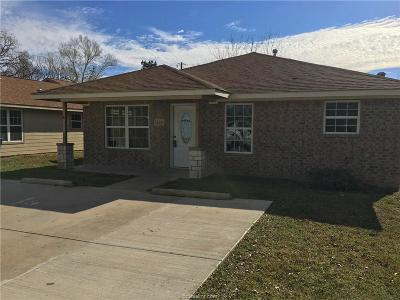 College Station Single Family Home For Sale: 124 Southland Street