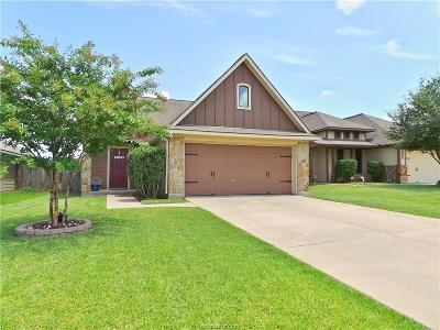 College Station Single Family Home For Sale: 2711 Silver Oak Drive