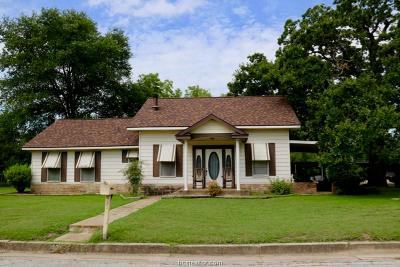 Navasota Single Family Home For Sale: 521 Brosig