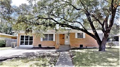 Bryan TX Single Family Home For Sale: $189,000