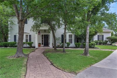 Bryan Single Family Home For Sale: 2802 Briar Grove Circle