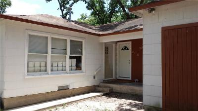 Bryan TX Single Family Home For Sale: $167,900