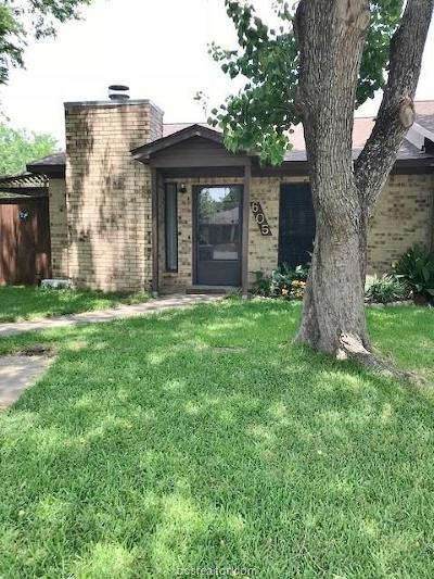 College Station TX Condo/Townhouse For Sale: $116,400