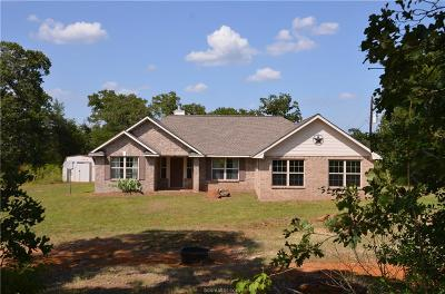 Burleson County Single Family Home For Sale: 7690 White Tail Trail
