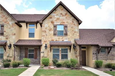 College Station Condo/Townhouse For Sale: 114 Armored Avenue