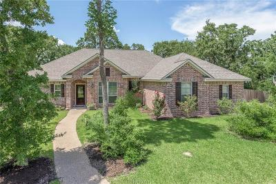 College Station Single Family Home For Sale: 1221 Ebbtide Cove