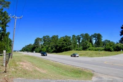 College Station, Bryan, Iola, Caldwell, Navasota, Franklin, Madisonville, North Zulch, Hearne Residential Lots & Land For Sale: 4280 Hwy 105 E