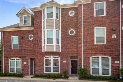College Station TX Condo/Townhouse For Sale: $234,000
