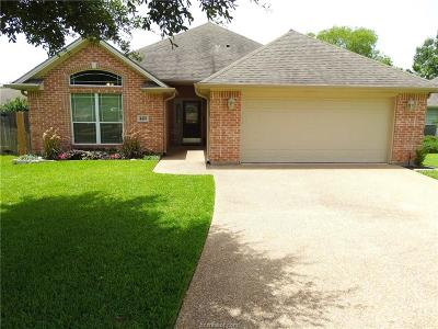 Brazos County Single Family Home For Sale: 4403 Danby Court