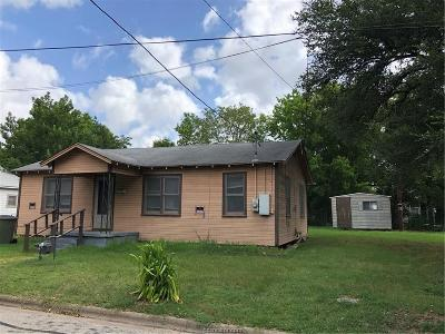 Bryan Single Family Home For Sale: 1214 Bruce Street