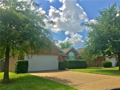 College Station Single Family Home For Sale: 3610 Graz Drive