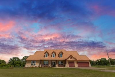 Grimes County Single Family Home For Sale: 16392 Hwy 90