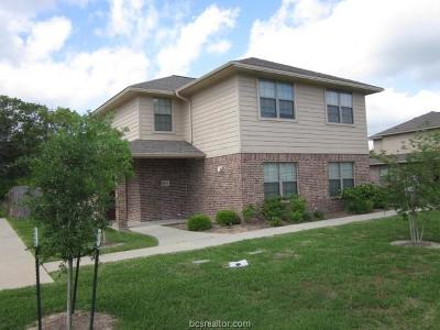 Brazos County Multi Family Home For Sale: 4432/34,4436/38 Reveille Road