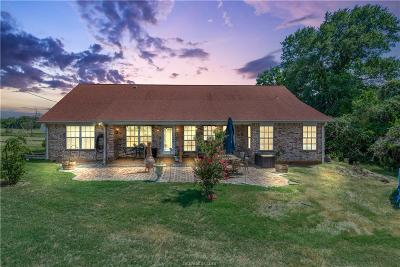 Bryan Single Family Home For Sale: 9056 Dilly Shaw Tap Road