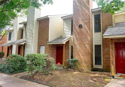 College Station TX Condo/Townhouse For Sale: $134,900