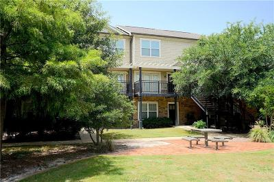 College Station TX Condo/Townhouse For Sale: $141,900
