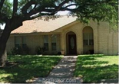 Bryan , College Station  Single Family Home For Sale: 1801 Leona Drive