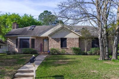 Bryan Single Family Home For Sale: 2509 Arbor Drive