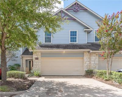 College Station Condo/Townhouse For Sale: 1203 Canyon Creek Circle