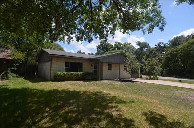 Bryan Single Family Home For Sale: 2301 Wilkes Street