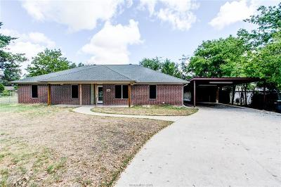 Bryan TX Single Family Home For Sale: $199,500