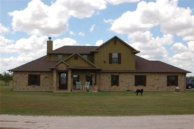Bryan, College Station Single Family Home For Sale: 8561 Old Reliance Road