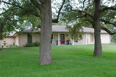 Bryan , College Stat Single Family Home For Sale: 8691 Old Reliance Road