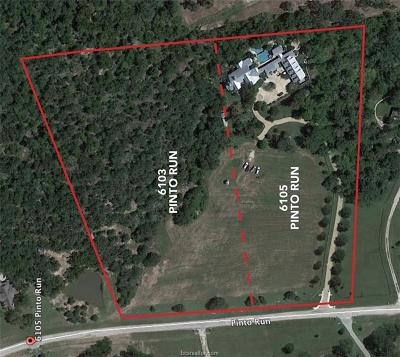 College Station Residential Lots & Land For Sale: 6103 Pinto Run