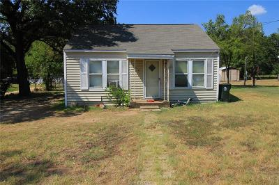 Bryan TX Single Family Home For Sale: $118,000