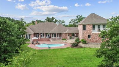 Bryan , College Stat Single Family Home For Sale: 3201 Elm Creek Court
