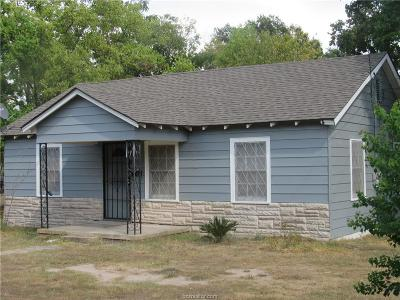 Bryan Single Family Home For Sale: 2001 Woodville Road