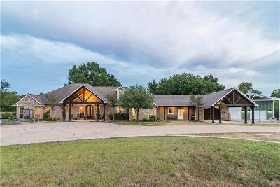 Brazos County Single Family Home For Sale: 13149 Hill Road