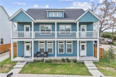 College Station Multi Family Home For Sale: 402/406-505/507 Ash & Cooner Street