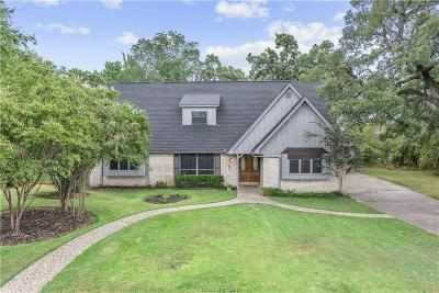 Bryan Single Family Home For Sale: 2520 Willow Bend Drive