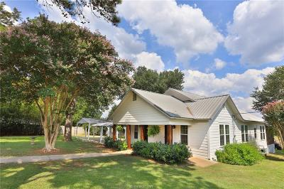 Burleson County Single Family Home For Sale: 3004 County Road 310
