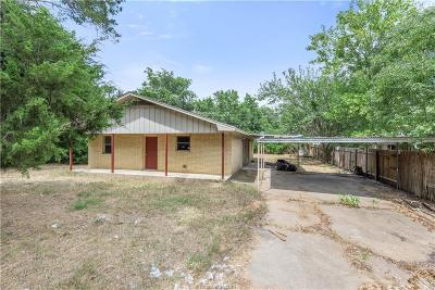 Bryan TX Single Family Home For Sale: $115,000